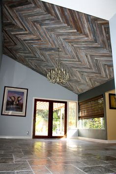 1000 Images About Reclaimed Wood Ceiling On Pinterest