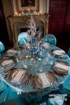 1000 Images About Winter Wonderland Tablescape On