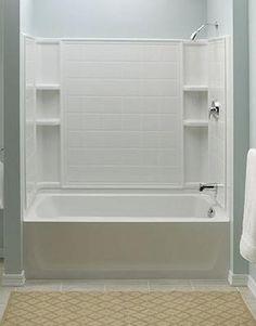 Delta 3 Piece Tub Shower Parker 20 Acrylic 60 Inch