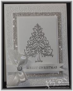 1000 Ideas About Embossed Christmas Cards On Pinterest