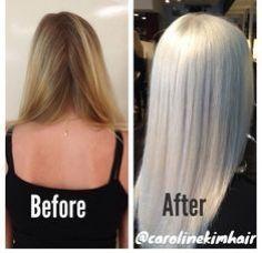hair on pinterest short blue hair icy blonde and white hair