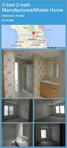 3 Bed 2 Bath Manufactured Mobile Home In Zellwood Florida 115 900