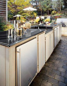 next house outdoor kegerator nesting pinterest posts the o jays and outdoor kitchens on outdoor kitchen kegerator id=77128