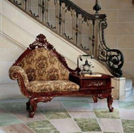 Victorian gossip bench