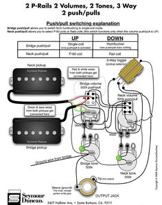Epiphone SG 3 volumes 1 tone wiring 3 humbuckers  Google Search | Wirings | Pinterest | Chang'e
