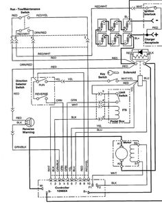ezgo golf cart wiring diagram | Wiring Diagram for EZGO 36volt Systems With Resistor Coils
