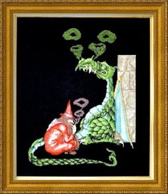 1000+ images about Dragon Cross Stitch on Pinterest ...