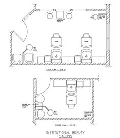 beauty salon floor plan design layout 283 square foot salon pinterest design layouts and