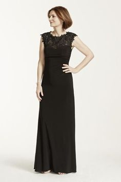 Bridesmaid dress   One Shoulder Dress with Satin Sash VW360215     My New Favorite  www davidsbridal com 10254236