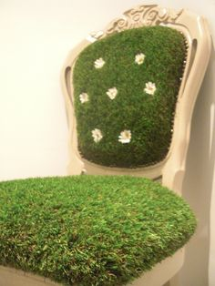 Grass chair. This is