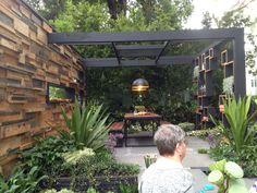 Outdoor entertainment area on Pinterest | Entertaining ... on Garden Entertainment Area Ideas id=15627