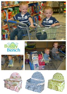 Buggy Bench Makes Shopping With 2 So Much Easier Perfect