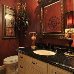 1000 Images About Powder Room Ideas On Pinterest Powder Rooms Mediterranean Baths And Half