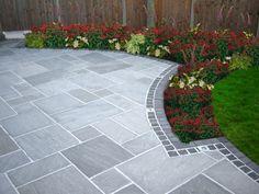 Back Yard Concrete Patio Ideas | Square Concrete Tile ... on Square Concrete Patio Ideas id=73482