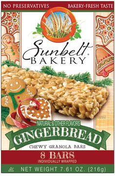 Sunbelt Oats Honey Chewy Granola Bars Food Breakfast