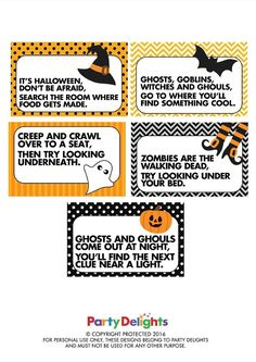 Halloween Party Games A Start Musicals And Circles
