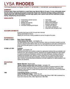 fresh essays cover letter for salon receptionist position