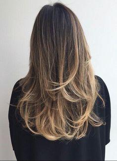 Chocolate Caramel Balayage Hair Beauty HairMake Up