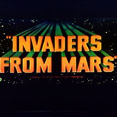 1000+ images about Invaders From Mars (1953 & 1986). on ...
