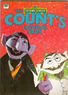 1000 Images About SESAME STREET THE COUNT On Pinterest