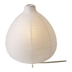 IKEA ORGEL VRETEN Floor Lamp Natural Steel 1999