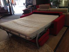 Bonnel Reflex Foam Mattress On A Metal Cage For Frequent Use Our Display Sofa Bed