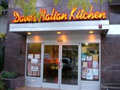 Dave Italian Kitchen Apparently Longtime Favorite Locals