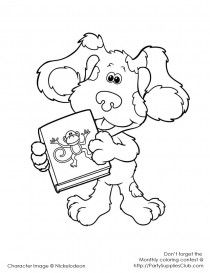 Bear in the big blue house | Kids Colouring Pages ...