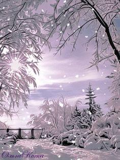 Анимации gif зимние 240 320 - Картинки Jpeg, анимированные ...
