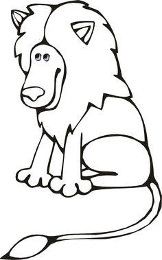 Рисунки животных для детей Распечатать раскраски с ...