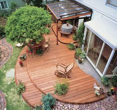 26 Floating Deck Design Ideas Floating Deck Deck Design