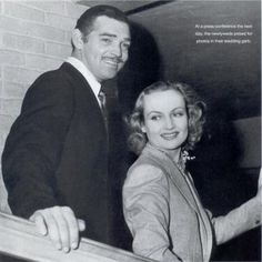 True Love of Clark Gable + Carole Lombard on Pinterest | 60 Pins