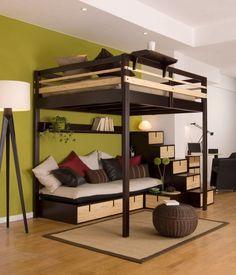 1000 Images About Loft Beds On Pinterest Loft Beds