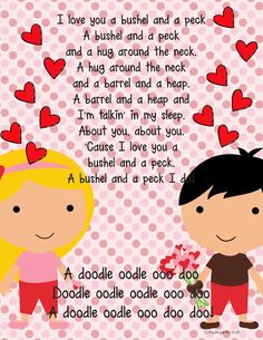 Valentine's Day Children's Songs, Action Rhymes and ...
