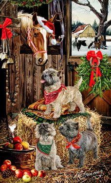 ChristmasMargaret Sweeney Dog Art On Pinterest