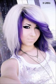 1000 images about hair fun colors on pinterest purple hair doe deere and purple highlights