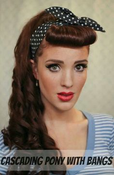 1920s 1930s Hairstyle Tutorial For Long Hair 1920s