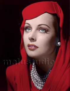 Hedy lamarr by aleahstewart201 on Pinterest   Hedy Lamarr, George ...