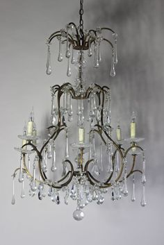 Antique Chandelier Italian Circa 1920 Http Www Antiquelightingandchandeliers Co Uk