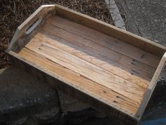 Wishing Well Flower Box From Wood Pallet Stuff To Try