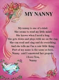 Nana Birthday Poems Nana Poems For Birthday Nan Birthday