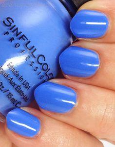 color blue things | Sinful Colors Blue La La-- Summer 2014 ...