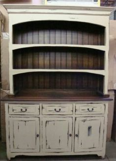Got An Old Tv Cabinet We Turned Ours Into A Kitchen Hutch