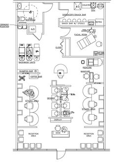 beauty salon floor plan design layout 1400 square foot new salon pinterest facial room