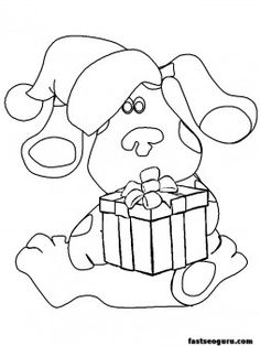 Free Printable Blues Clues Coloring Pages For Kids | Blues ...