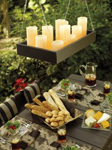 Outdoor Candle Chandeliers Wrought Iron Pinterest Chandelier And