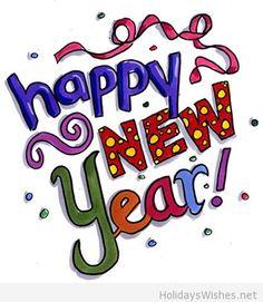 cartoon happy new year