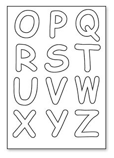 1000 Images About Alpha Letters On Pinterest Printable