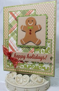 1000 Images About Gingerbread Cards On Pinterest
