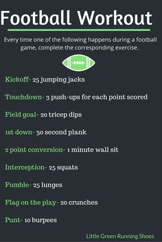 Workout While Watching The Game At Home Or Tailgate Tag Us